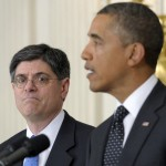 Treasury Secretary nominee Jack Lew with President Obama  (AP Photo/Susan Walsh, File)