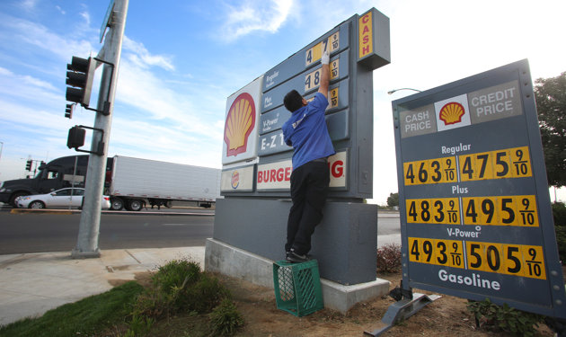 Gas prices could be lower in 2013, but other costs will rise