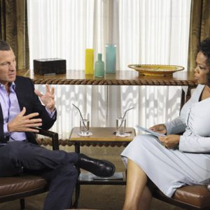 Lance Armstrong with Oprah Winfrey  (AP Photo/Courtesy of Harpo Studios, Inc., George Burns, File)