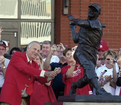 Cardinals star Stan 'the man' Musial dead at 92