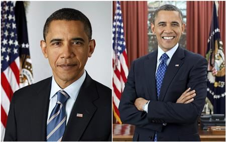 President Obama's official White House portraits