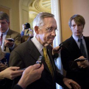 Senate minority leader Harry Reid (AP Photo/J. Scott Applewhite)