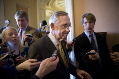 Senate minority leader Harry Reid(AP Photo/J. Scott Applewhite)