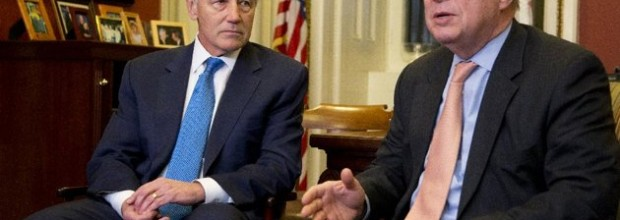 Democratic support growing for Hagel nomination