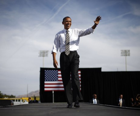 President Barack Obama in Wyoming (AP)