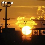 The sun rises over the U.S. detention center Camp Delta at US Naval Base Guantanamo Bay in Cuba on October 18, 2012 in this photo reviewed by the U.S. Department of Defense. 