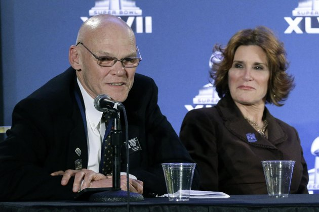 Jim Carville, Mary Matalin return to the scene of their marital crime