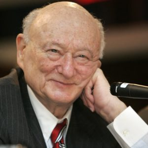 Former New York Mayor Ed Koch  (AP Photo/Frank Franklin II, File)