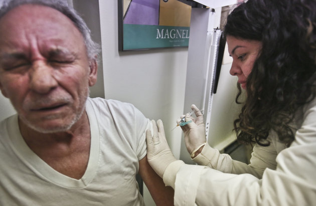 Older folks not protected by this year's flu shots