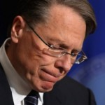 NRA Chief Wayne LaPierre: Another day, another lie.