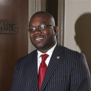 Marco McMillian, 34, a candidate for mayor of the Mississippi Delta city of Clarksdale.