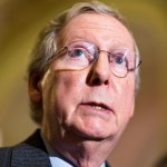 Sen. Mitch McConnell: Victim of racism or user of it? (AP)