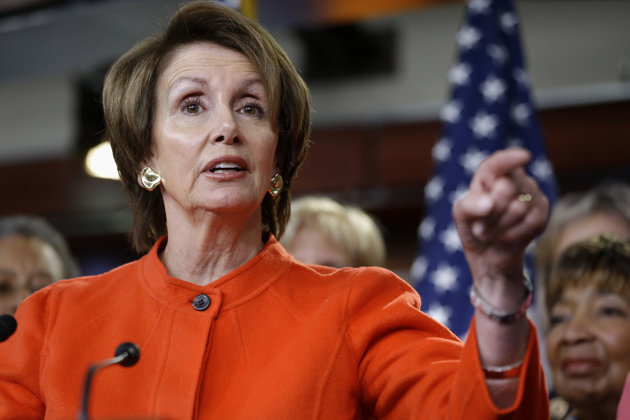 House Minority Leader Nancy Pelosi: Renewal of act a victory for Democrats.  (AP Photo/Jacquelyn Martin, File)