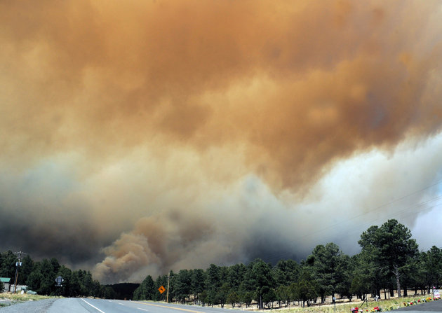 Budget problems may result in more forest fires left to burn