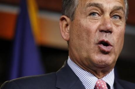 Speaker John Boehner (KEVIN LAMARQUE/REUTERS)