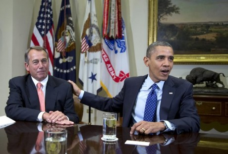 Speaker of the House John Boehner and President Barack Obama  (AP Photo/Carolyn Kaster, File)