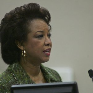 Floriday Lt. Governor Jennifer Carroll. (AP Photo/Phil Sears)
