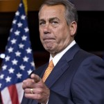 House Speaker John Boehner of Ohio gestures as he speaks to reporters, on Capitol Hill in Washington, following a closed-door meeting with President Barack Obama and House Republicans to discuss the budget. There were no breakthroughs predicted when Obama set out on his courtship of Congress. And theres no sign any have been achieved. (AP Photo/J. Scott Applewhite, File)