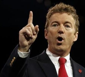 Sen. Rand Paul, winner of the meaningless CPAC straw poll (Reuters)