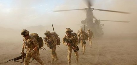 Obama salutes end of American role in Afghanistan