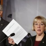 Sen. Patty Murray and Majority Leader Harry Reid ( REUTERS/Larry Downing