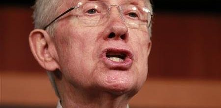 Senate Leader says gun control  bill must include expanded background checks
