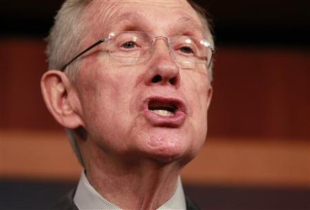 Senate Majority Leader Harry Reid (REUTERS/Jason Reed)