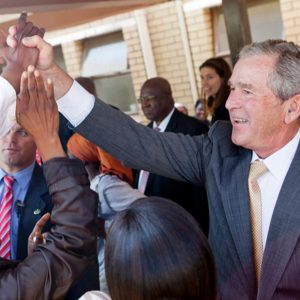 Former President George W. Bush:  His bills lead the list of charges to American taxpayers last year (AP Photo/George W. Bush Presidential Center, Shealah Craighead, File)
