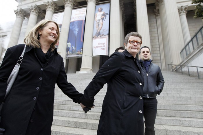 Gay marriage issue before Supreme Court Tuesday