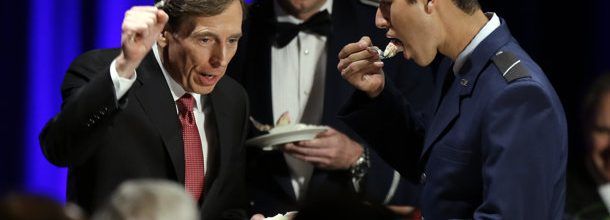 Petraeus sorry he screwed around and had to quit CIA job