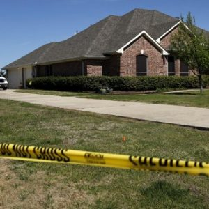 The home of Kaufman District Attorney Mike McLelland is shown Monday, April 1, 2013, near Forney, Texas. McLelland and his wife were both murdered at their home Saturday. (AP Photo/Tony Gutierrez)