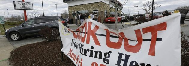 Are jobs gaining in the United States?