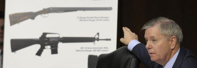 Senators work on plan to expand background checks on gun sales