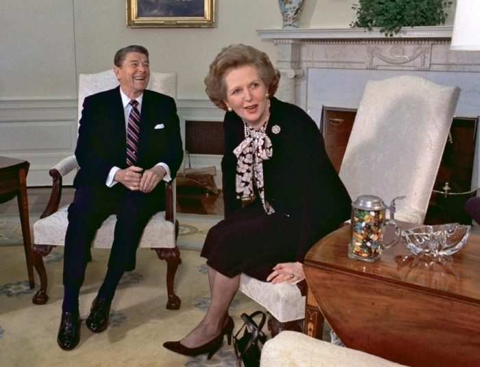 Maggie Thatcher remembered for her strong bond with Reagan