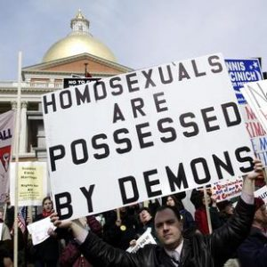 A typical Republican position on gays.