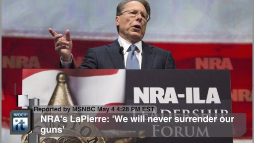 Wanna see a real gun nut? Meet Wayne LaPierre