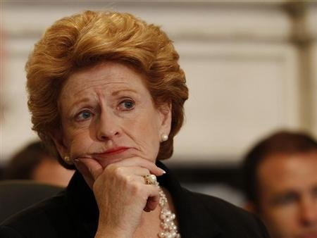 enator Debbie Stabenow (D-MI), the chairwoman of the Senate Agriculture Committee. (REUTERS/Gary Cameron)