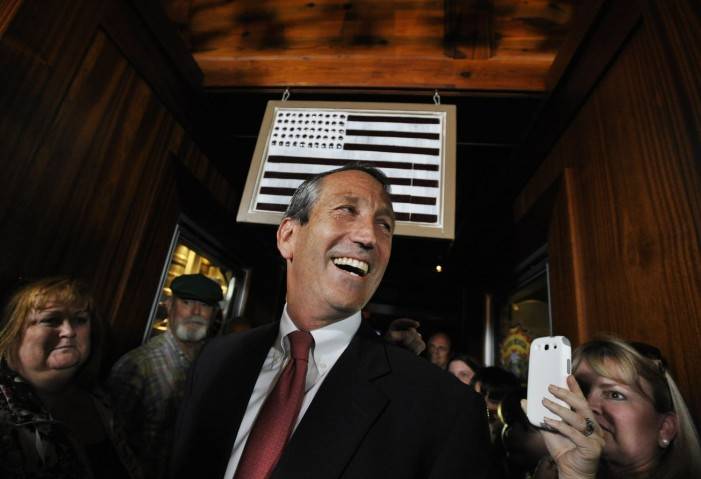 Mark Sanford finds redemption from South Carolina voters