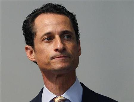Former Rep. Anthony Weiner. (REUTERS/Mike Sega)