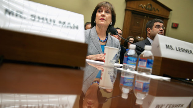 Lerner's hard drive with lost IRS emails destroyed