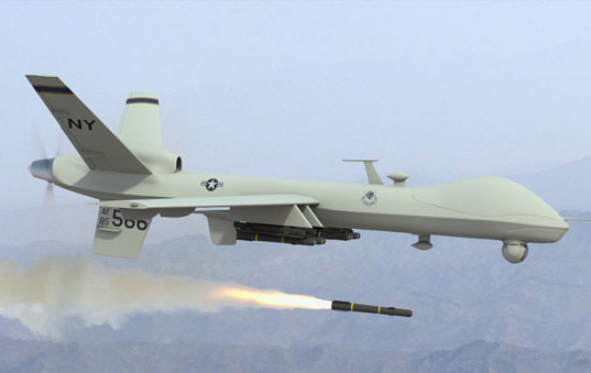 Drones guarding American interests in Iraq