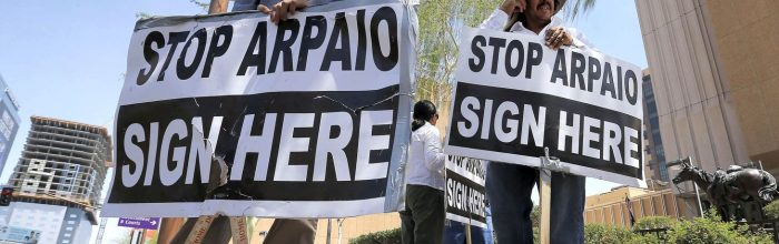 Recall effort against rabid sheriff fails in Arizona