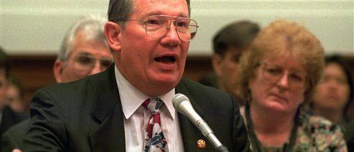 Bribe-taking Congressman at end of long prison term