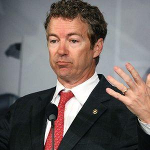 Rand Paul:  Yeah, he said that
