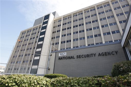National Security Agency building at Fort Meade, Md.  (AP Photo/Charles Dharapak, File)