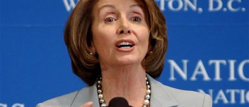Pelosi's defense of NSA spying draws boos