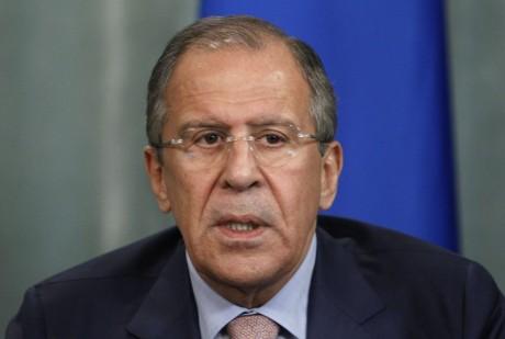 Russia's Foreign Minister Sergey Lavrov (AP Photo/Ivan Sekretarev)