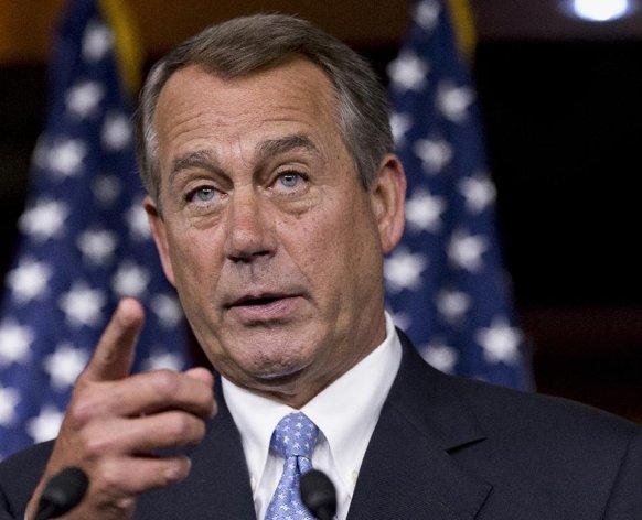 House Speaker John Boehner  (AP Photo/J. Scott Applewhite, File)