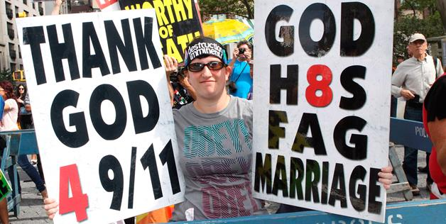 Bible-thumpers misuse the 'good book' to justify homophobia