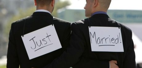 Gay marriage is a legal and moral right